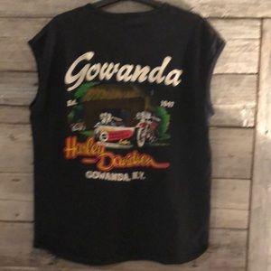 Harley-Davidson Shirts - Harley-Davidson Men's Vintage T-Shirt Size Medium
